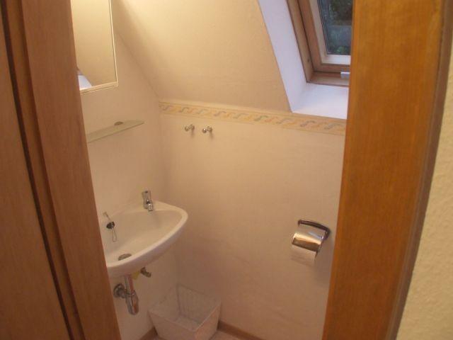 Das WC (separat)