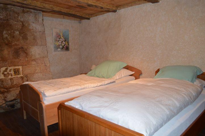 Schlafzimmer wie zu Omas Zeiten