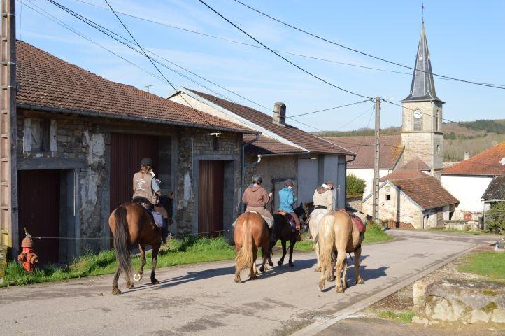 Wanderreiter in Tignécourt
