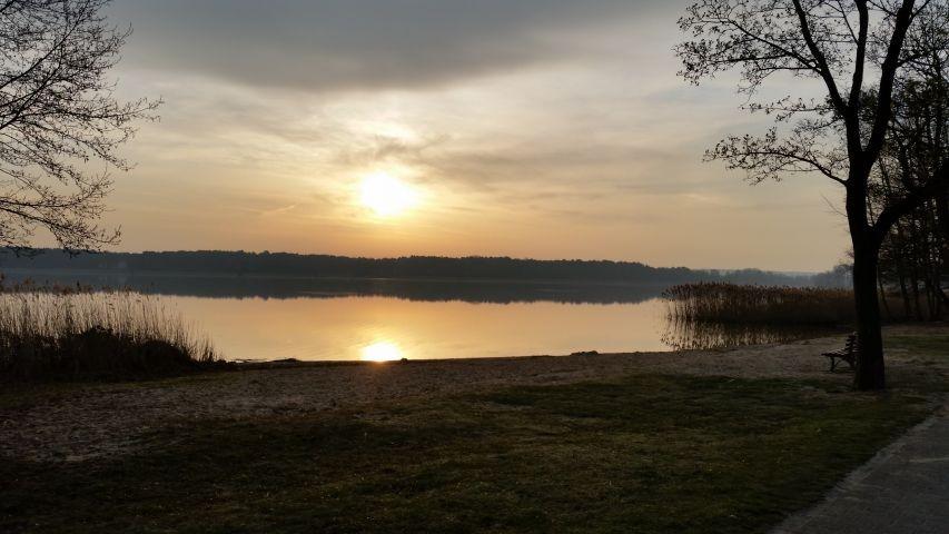 Der Storkower See ist zu jeder Jahreszeit faszinierend
