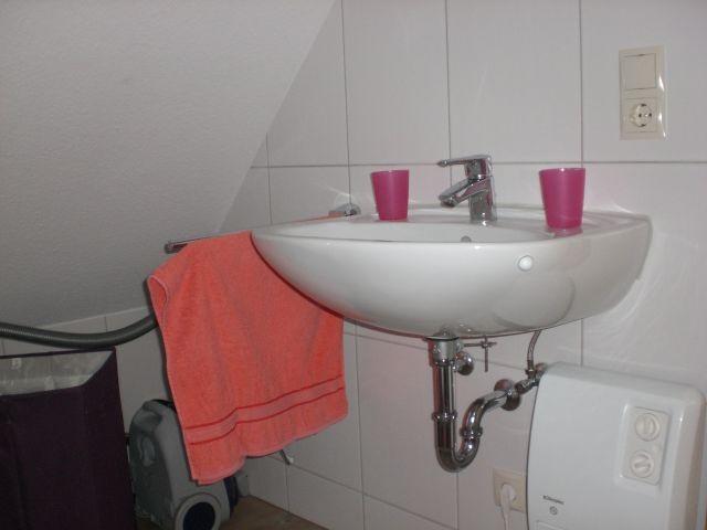Waschbecken oben