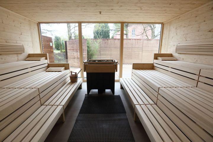 Nutzung der Sauna im hauseigenen Spa & Fitness Bereich inklusive