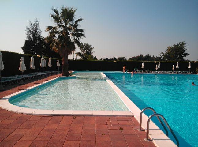 Poolbereich für Kleinkinder
