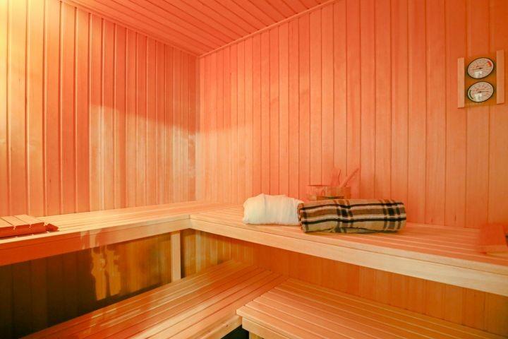 Sauna inklusive!