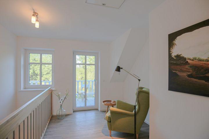 Galerie mit Leseecke