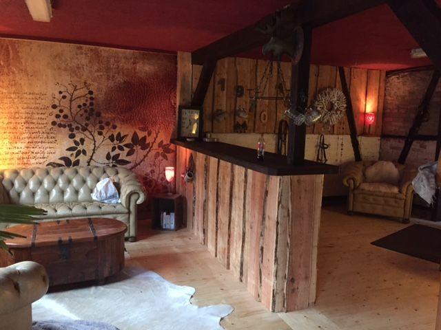 Wellnesslounge mit Sauna