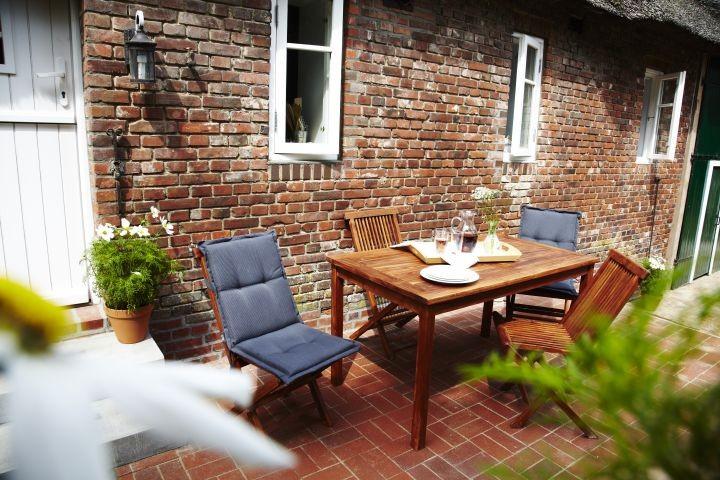 Terrasse zum Relaxen und Sonnen