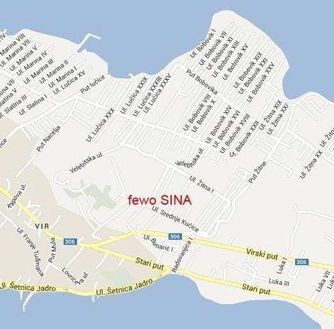 Lage Haus Sina