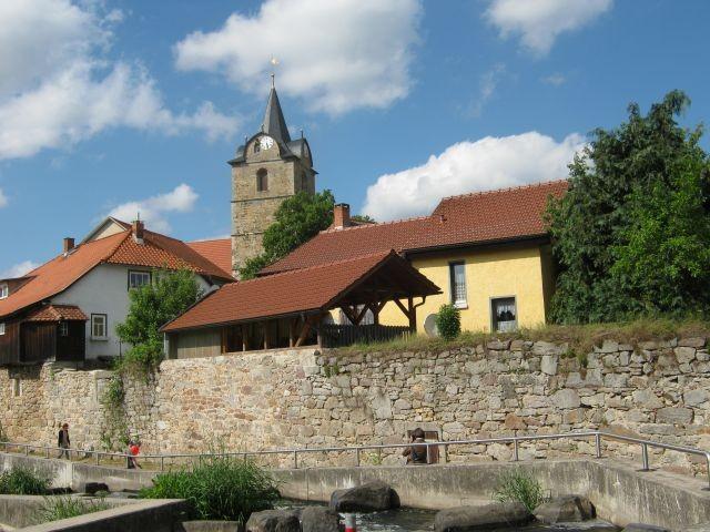 Themar, geschichtsträchtige Stadt mit Stadtmauer + 7 Türmen