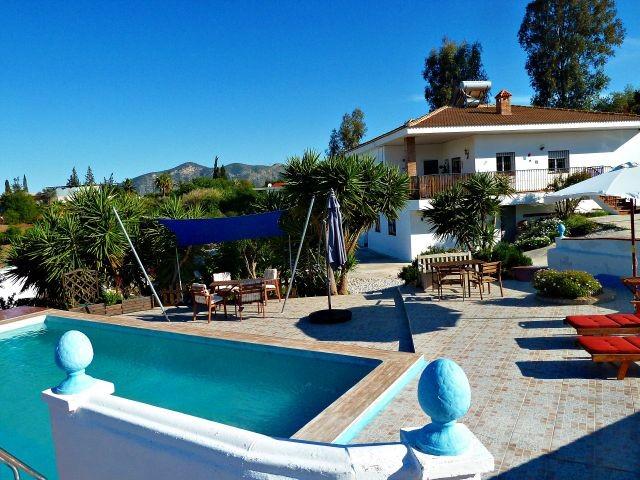 Pool bei der Ferienwohnung