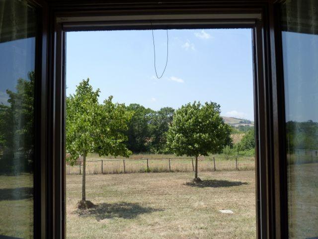 Aussicht aus den Schlafzimmer Fenstern