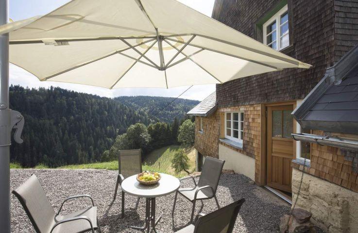 Terrasse mit fantastischem Schwarzwaldblick