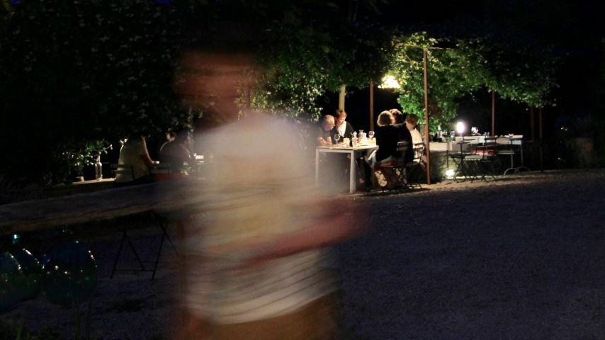 Abendessen unter den Sternen