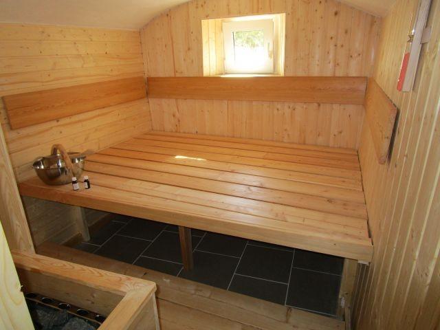 Sauna im Haus 1 unten
