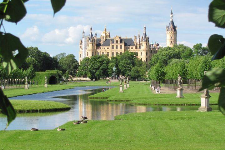 Das Märchenschloss Schwerin