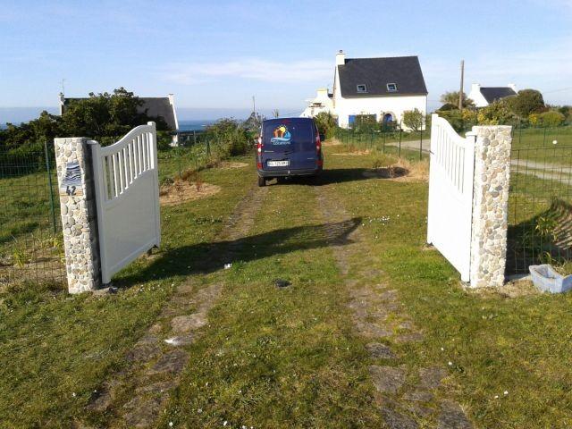 Der private Zufahrtsweg zum Haus