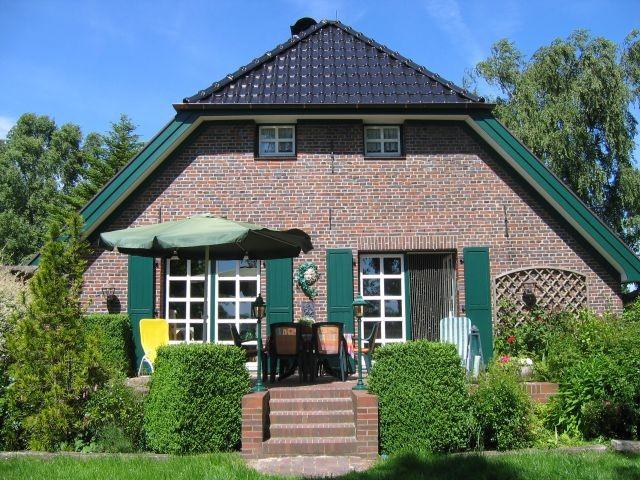 Landhaus Birkenhof in Varel-Moorhausen, Südterrasse