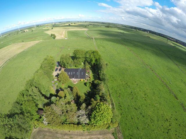 Unser Birkenhof - Luftaufnahme