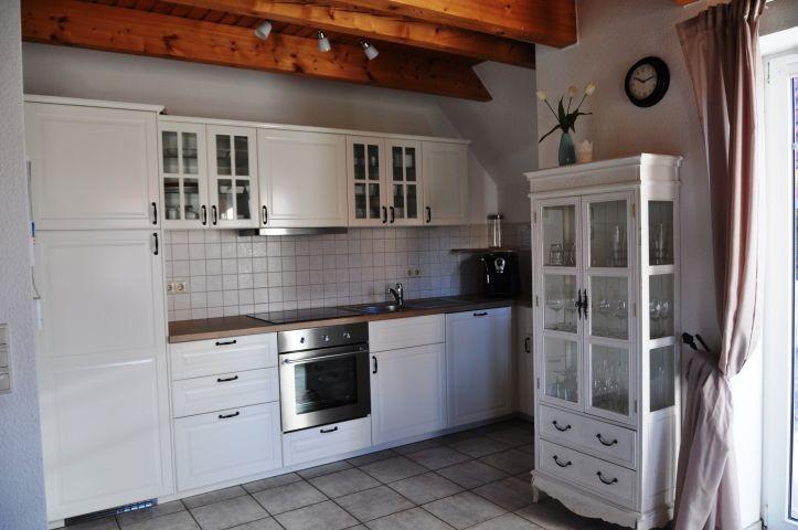 gemütliche offene Landhausküche
