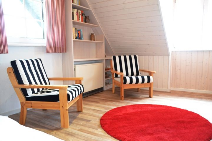 Blick Einzelbettenschlafzimmer II Seekamp