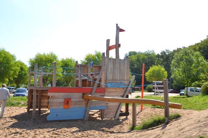Piratenspielplatz Hohwacht