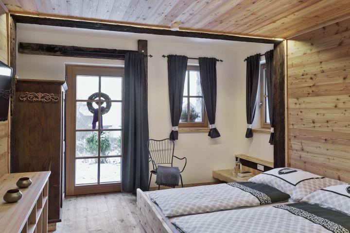 Bauernhaus Schlafzimmer Kellergeschoß