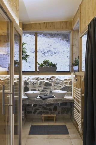 Bauernhaus Badezimmer Erdgeschoß