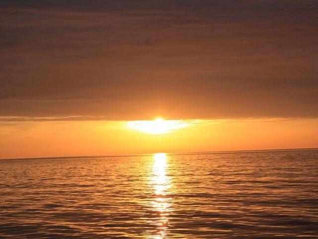 Traumhaft schöne Sonnenuntergänge