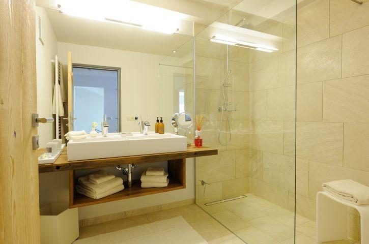 Chalet Bischofsmütze Badezimmer