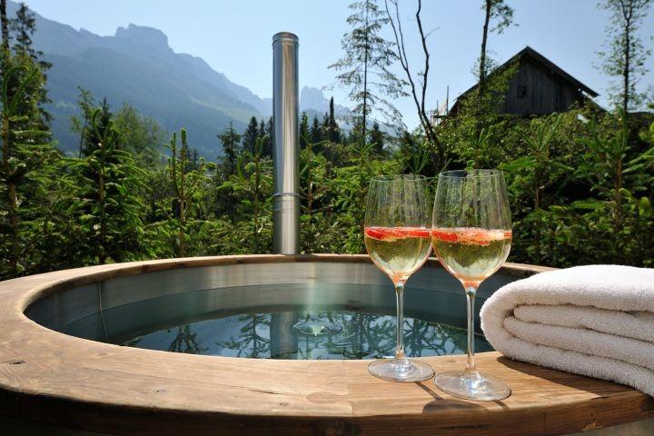 Chalet Riedelkar Hot Tub