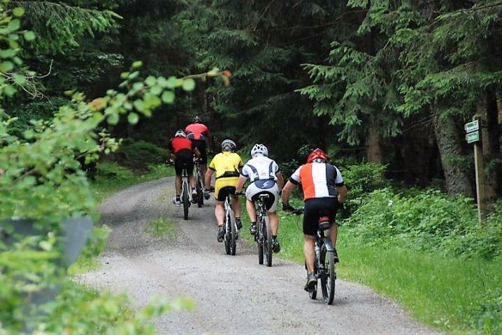 Vielfalt an Rad- und Wanderwegen