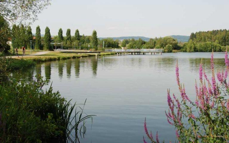 Erlauzwiesler See, Spazieren, Angeln, Boot fahren