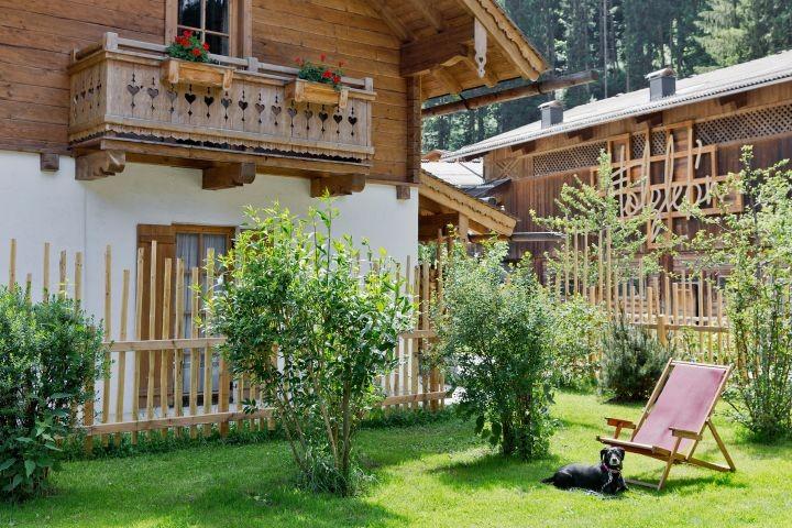 Chalet mit eigenem Garten