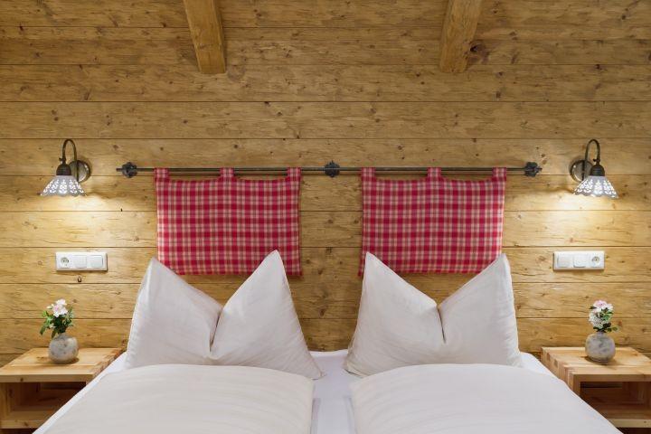Jaga-Hütte Schlafzimmer