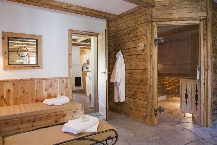 Jaga-Hütte Wellness und Sauna