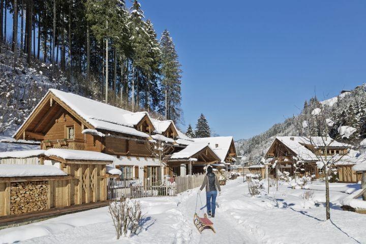 Feriendorf Holzleb'n im Winter