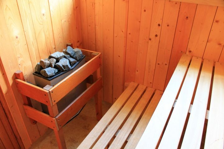 Sauna im Nebenhaus