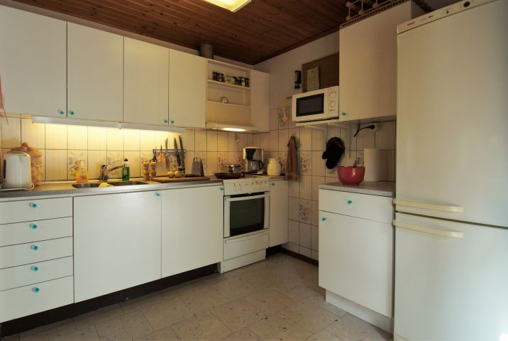 offenen, komplett ausgestattete Küche