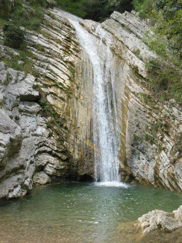 Wasserfall Aer