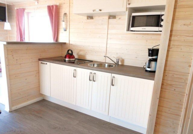 Küche komplett ausgestattet