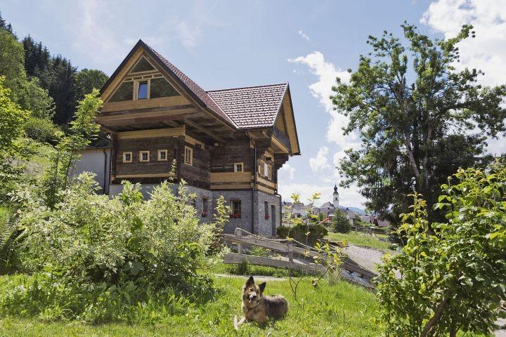 Bauernhaus Sommer außen