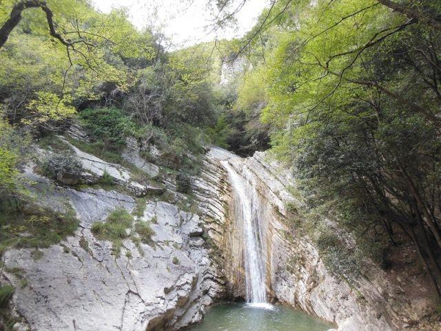 Wasserfall Tignale-Aer