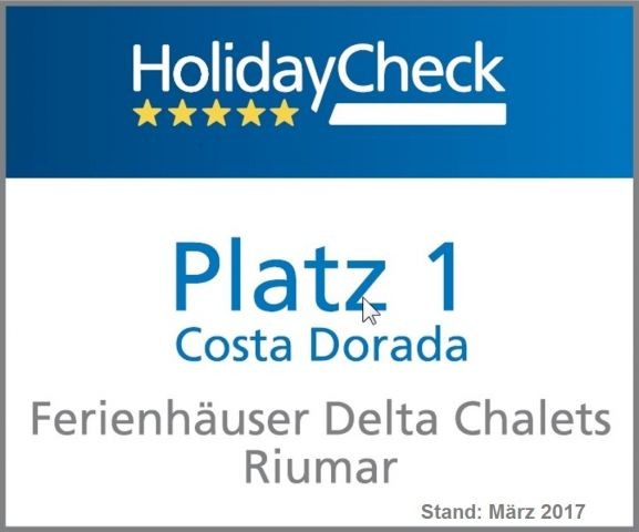 Platz 1 an der Costa Dorada