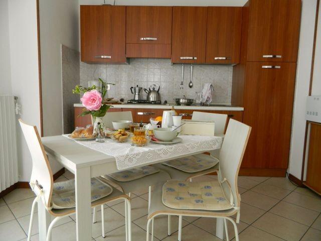 Essplatz in der Küche Apt. 7