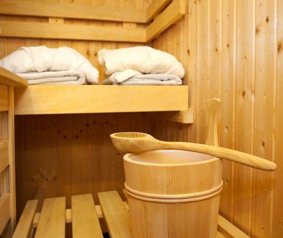 Entspannen Sie in der eigenen Sauna