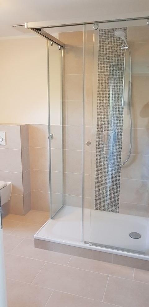 Dusche im Obergeschoss
