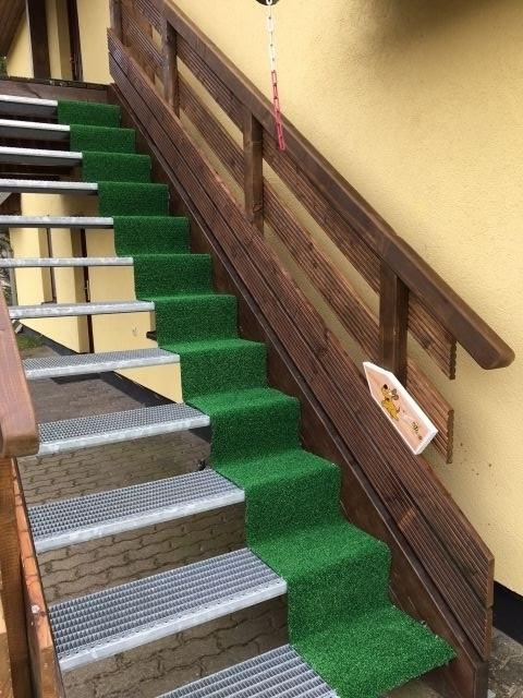 Hundefreundliche Außentreppe  Typ 1 oben