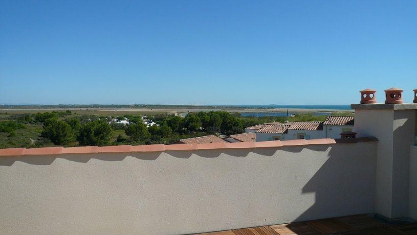 Meeresblick Dachterrasse