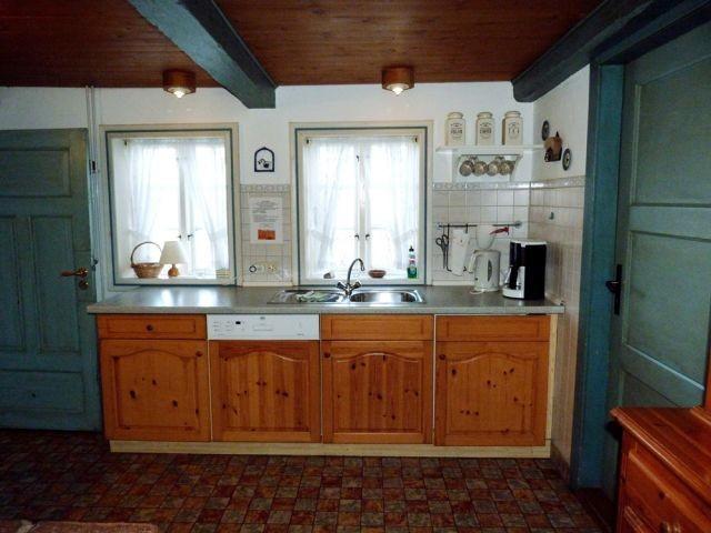 Arbeitsbereich in der Küche
