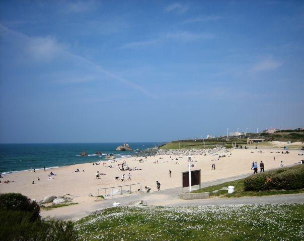 Strand von Ilbarritz